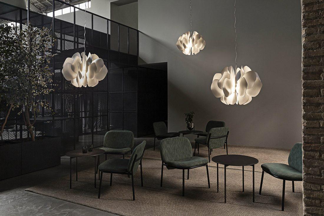 Lladro Nightbloom Hanging Lamp by Marcel Wanders 2019
