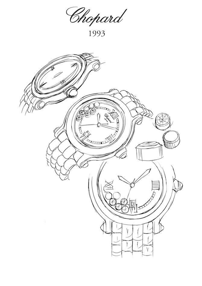 Il disegno del primo Sketch Happy Sport 1993-jpg