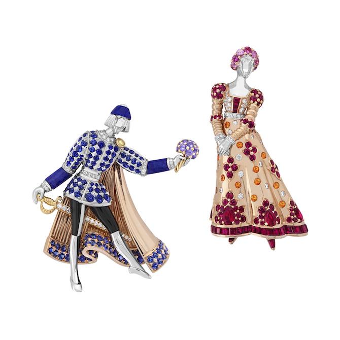 Van Cleef & Arpels Romeo & Juliet - Spille Romeo & Juliet