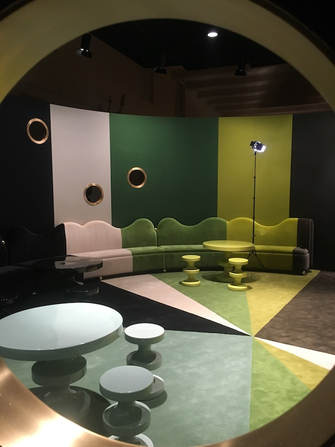 divani realizzati per Homo Faber 2018