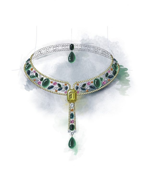 Le Paris Russe de Chanel - Collana trasformabile Ble Maria