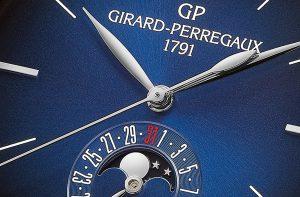 Girard-Perregaux 1966 Blue Moon. Tempo universale