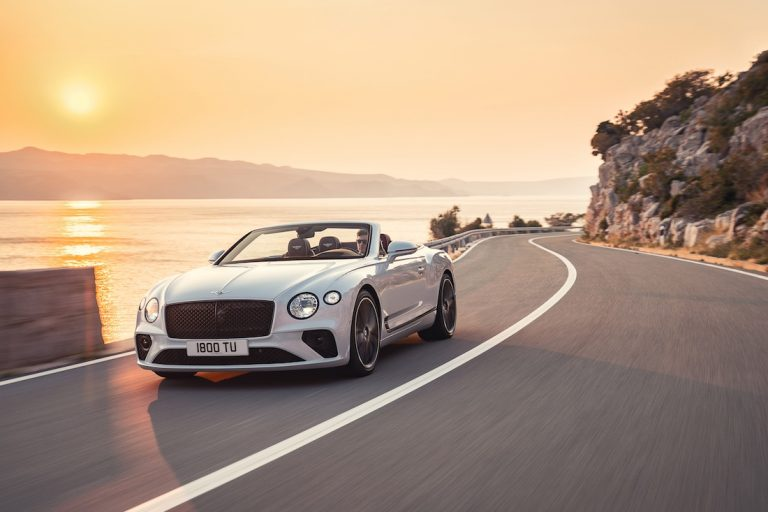 Bentley Continental GT Convertible. L'estate addosso