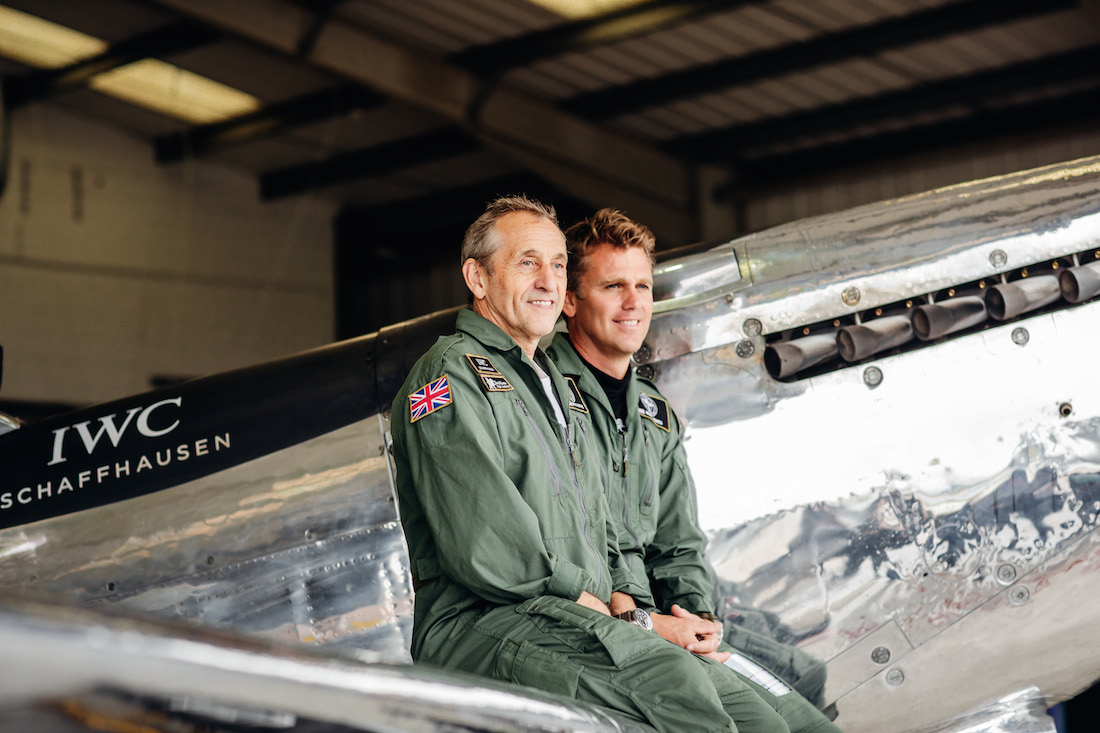 """Silver Spitfire - The Longest Flight"". In Conversation with Matt Jones and Steve Boultbee Brooks"