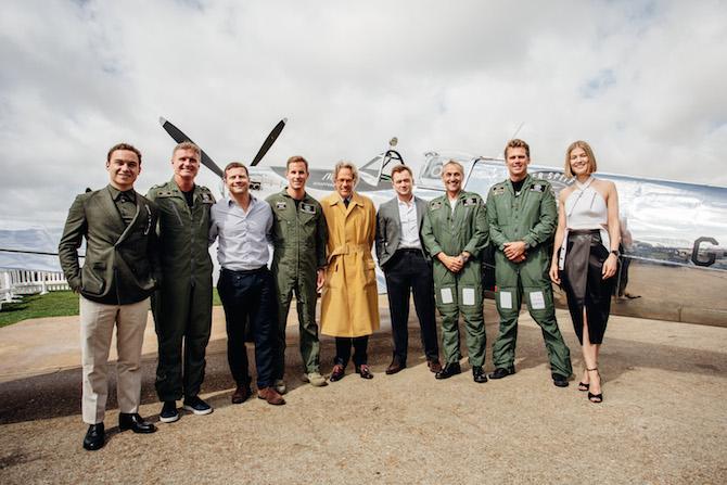 """decollo del viaggio """"Silver Spitfire - The Longest Flight"""""""