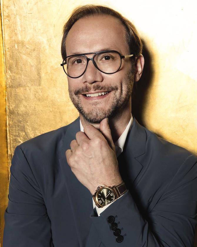Alvaro Maggini Panerai Creative Director portarit