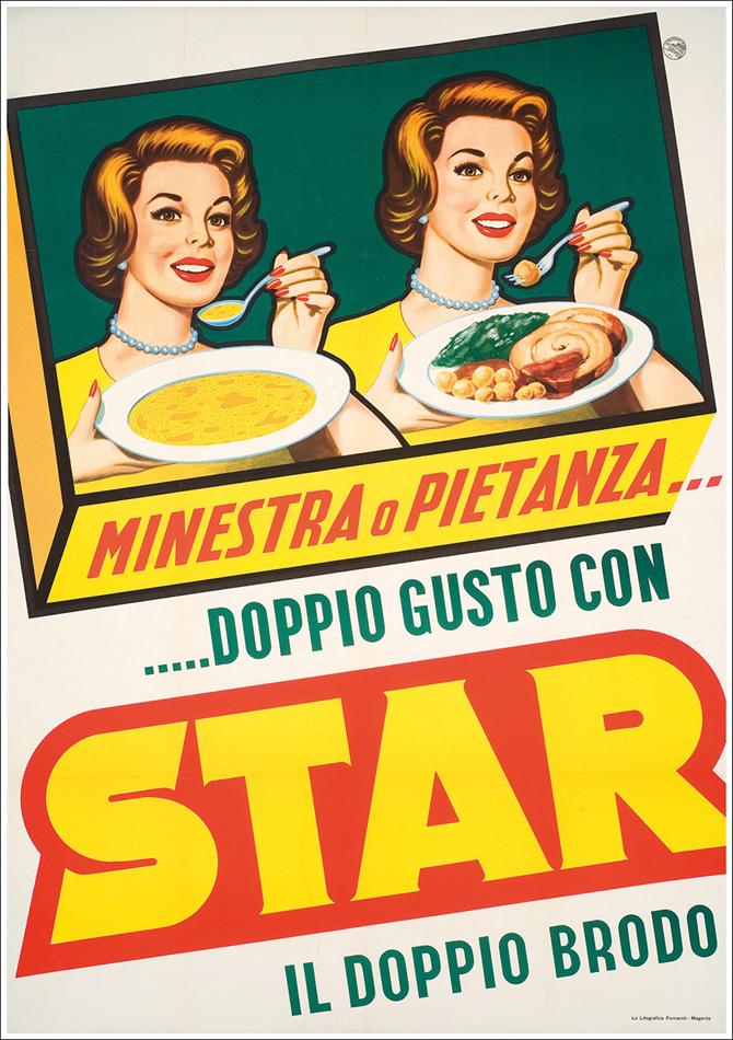 Gino Pesavento Doppio brodo Star circa 1965