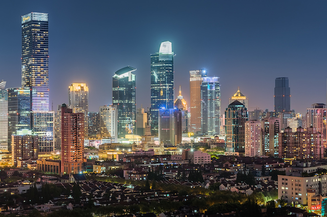"Jing` An District – Photo Credit Ufficio Stampa Forum ""Investment & Business in Shanghai"""