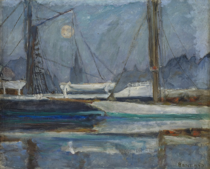 Pierre Bonnard Il Bacino degli Yachts a Deauville, 1910 ca.