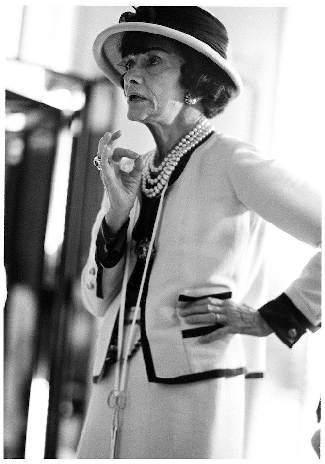 Mademoiselle Chanel Douglas Kirkland Corbis