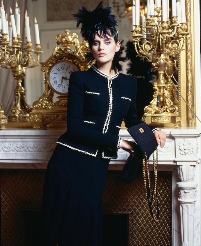 Stella Tennant en 1996_Karl Lagerfeld CHANEL
