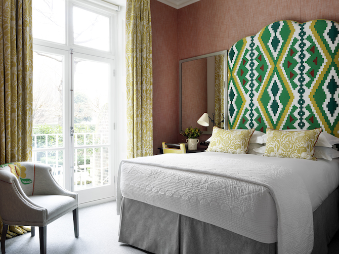 Number Sixteen, Firmdale Hotels by Kit Kemp - Photo Credit: Design Hotels™