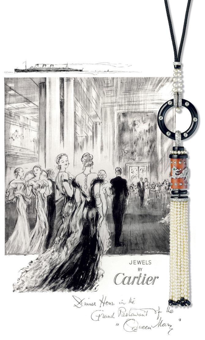 L'Odyssée de Cartier - Capitolo 2- Bond Street - Pendente Cartier Paris, 1922