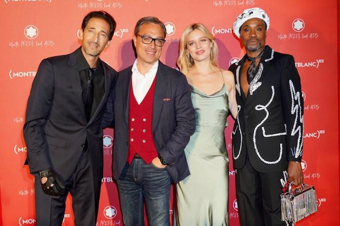 Adrien Brody,Nicolas Baretzki;Georgia May Jagger, Billy Porter