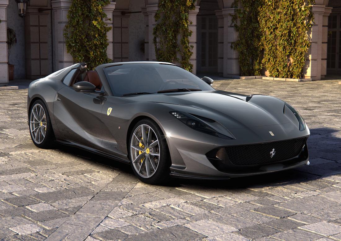 Ferrari 812 GTS, dopo 50 anni torna il motore V12 anteriore