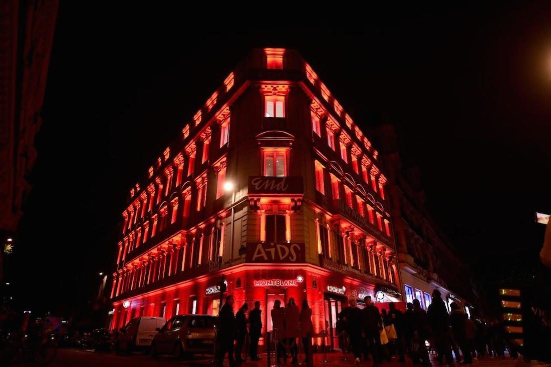 Montblanc: Write RED, End AIDS