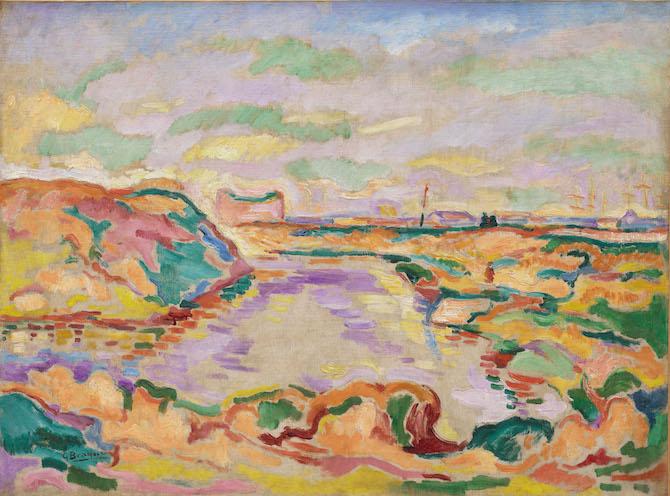 Georges Braque Paesaggio nei pressi di Anversa