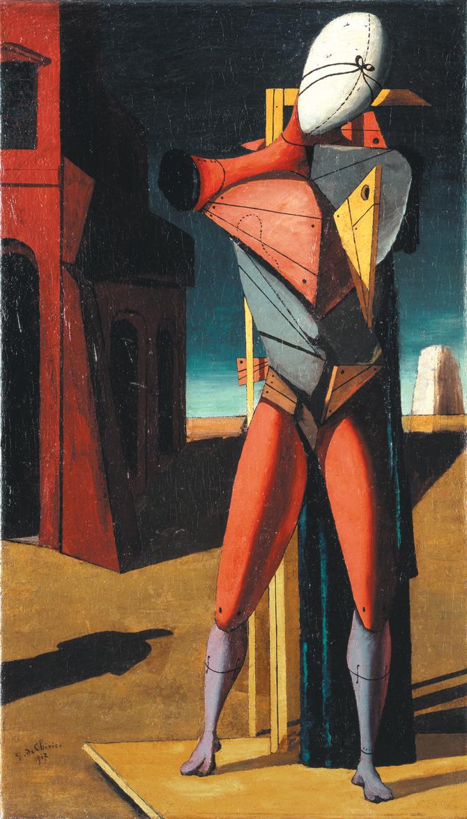 Giorgio de ChiricoIl trovatore, 1917