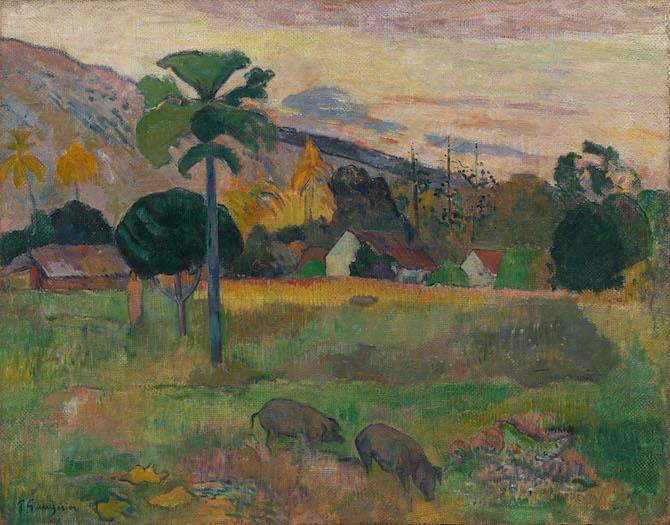 Paul Gauguin Haere Mai, 1891