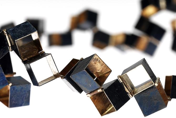 Collana in oro bianco Giampaolo Babetto
