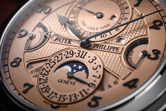 Only Watch e la legge di Patek