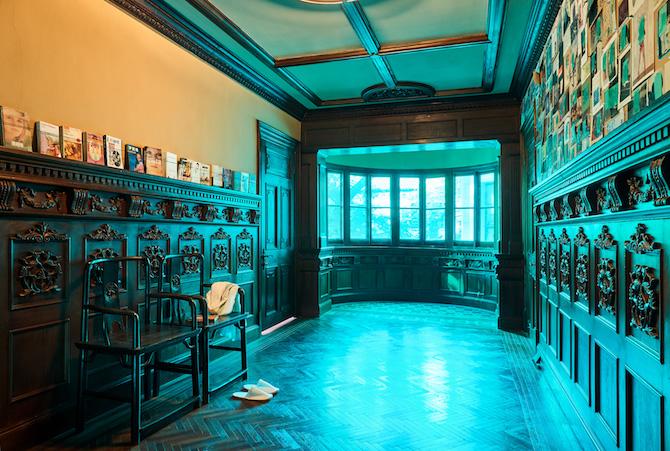 "Exhibition view of ""Rear Windows"" by Li Qing Prada Rong Zhai7 November 2019 - 19 January 2020Photo: Zhu Hai Courtesy Prada"