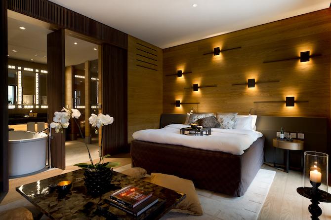 The Chedi Andermatt, Deluxe Room – Photo Credit: The Chedi Andermatt