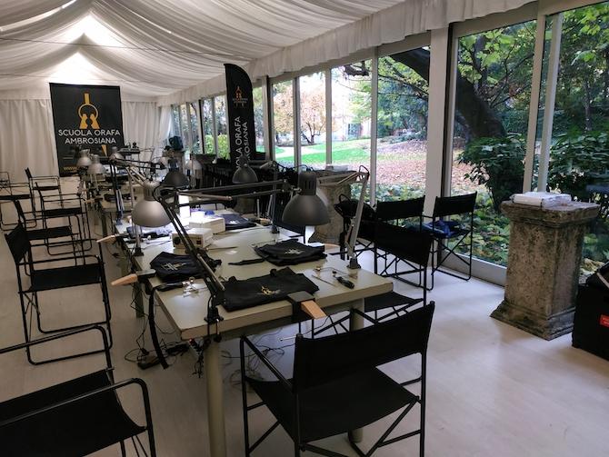 laboratorio di oreficeria al Museo Poldi Pezzoli