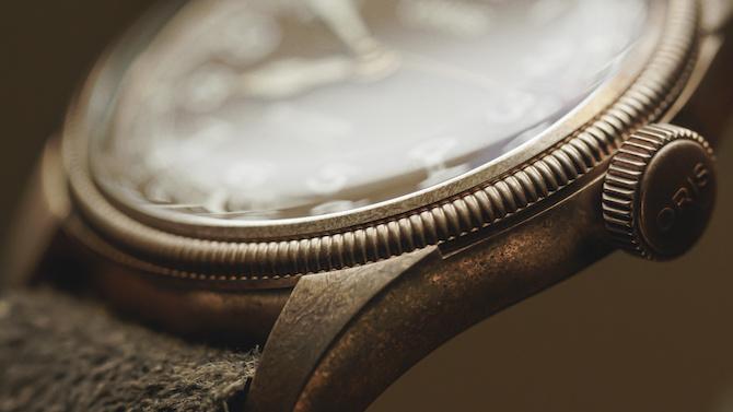 Big Crown Bronze Pointer Date di Oris.