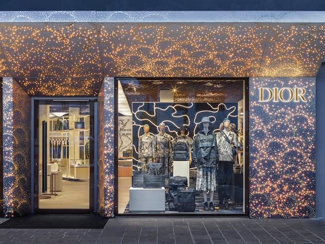 Pop up store Dior, Cortina D'Ampezzo - Photo Credit: Dior