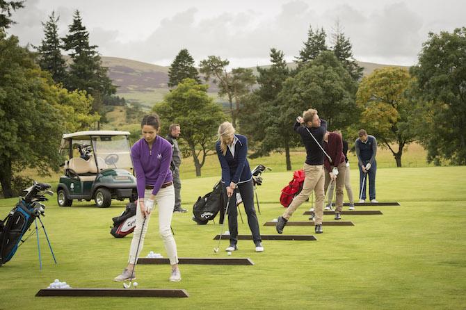 Gleneagles Scozia, Discover Golf