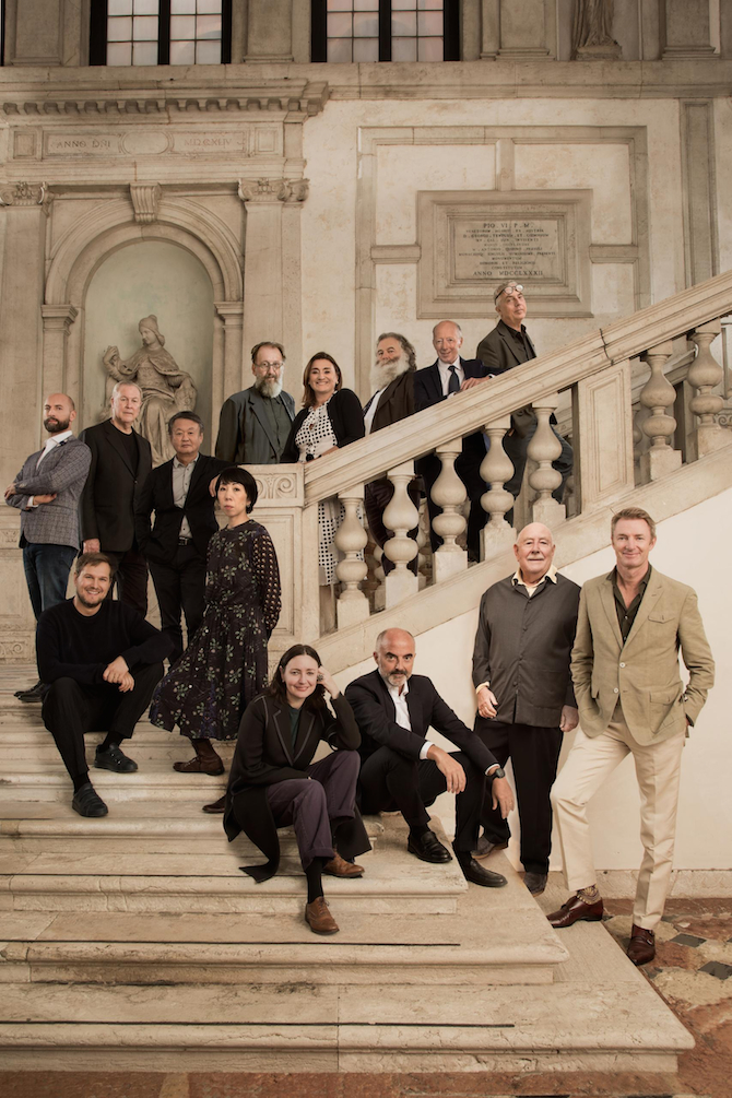 Homo Faber 2020 Curators and Designers with Founder Franco Cologni and Executive Directors Fabienne Lupo and Alberto Cavalli - Laila Pozzo©Michelangelo Foundation