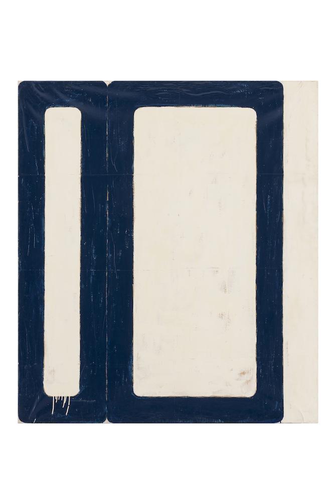 Mario Schifano_Tempo moderno, 1962Enamel on paper mounted on canvas180 x 160 cmPrivate collection, courtesy Fondazione Marconi, Milan Photo: Fabio Mantegna