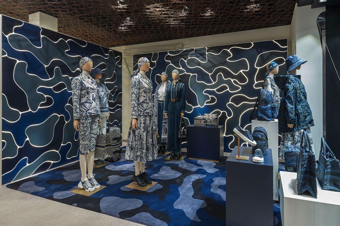 Dior, il nuovo pop up store a Cortina