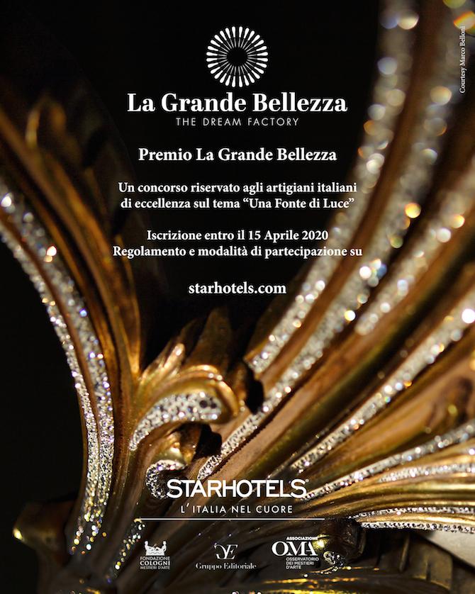 """Premio Starhotels """"La Grande Bellezza"""""""