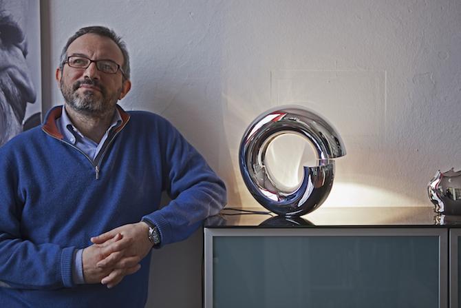 Matteo De Vecchi e la lampada Honia