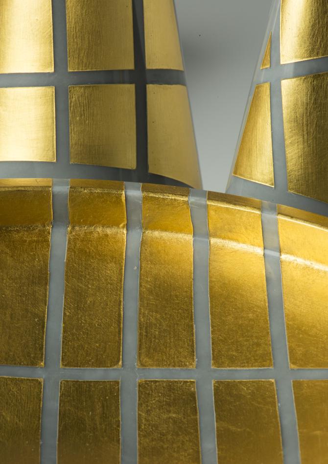 """""""Shadows of gold"""", del maestro Marino Menegazzo dell'Atelier Mario Berta Battiloro"""