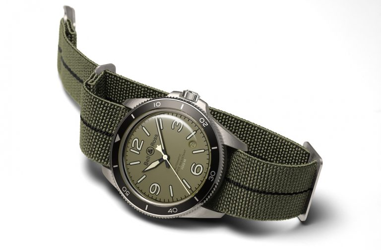 Bell & Ross BR V2-92 Military Green. Avamposto da polso