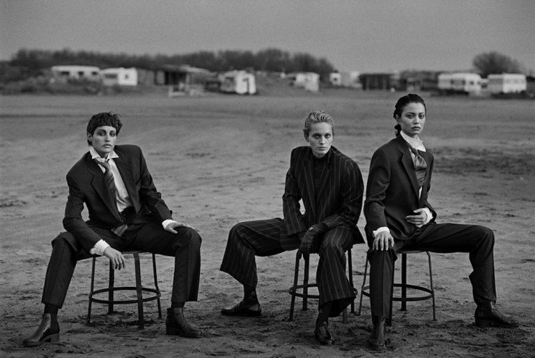 Peter Lindbergh foto Heimat. A Sense of Belonging Armani Silos
