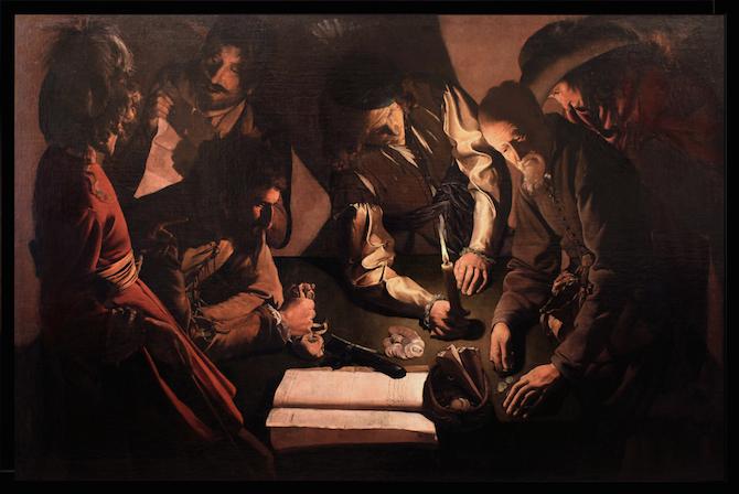 Georges de La Tour Il denaro versato
