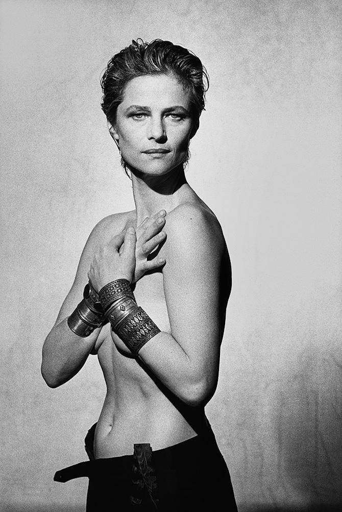Charlotte Rampling, Paris, 1987 ∏ Peter Lindbergh