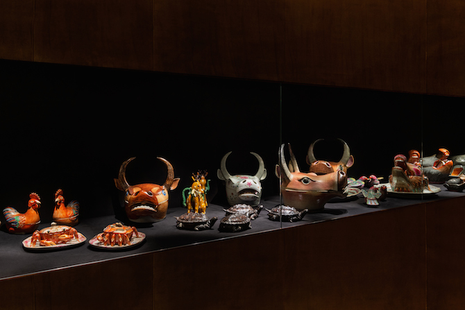 _ Exhibition view of