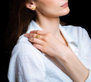 Collezione Demetra di Pisa Diamanti, il fiore in gioiello