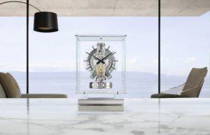 Jaeger-LeCoultre Atmos Transparente. Tempo sospeso