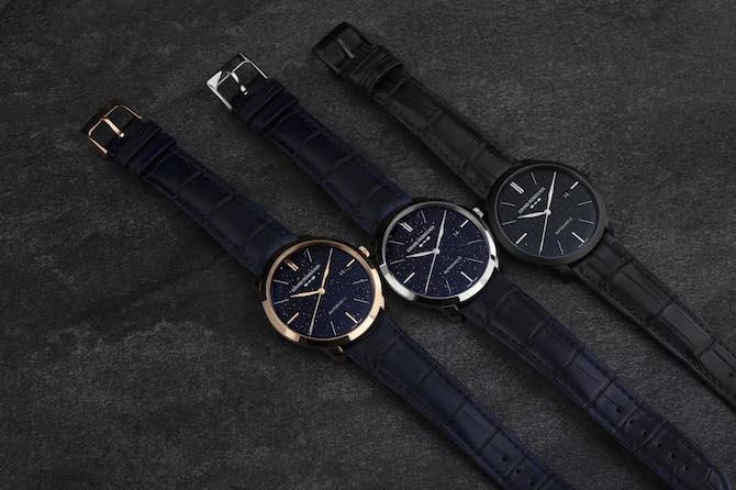 La trilogia di orologi Girard-Perregaux 1966 Orion.
