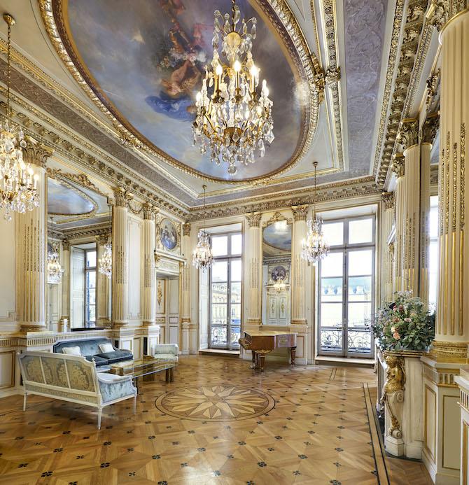 hotel particulier di Chaumet a Parigi