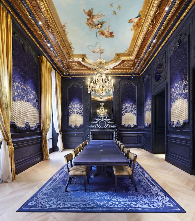 Il salone delle perle hotel particulier Chaumet Parigi
