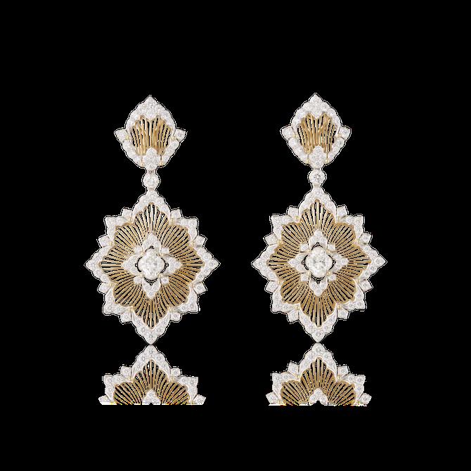 Buccellati gioielleria. Orecchini Vega