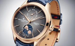 Baume & Mercier Clifton Baumatic Moonphase Gold: estetica funzionalità