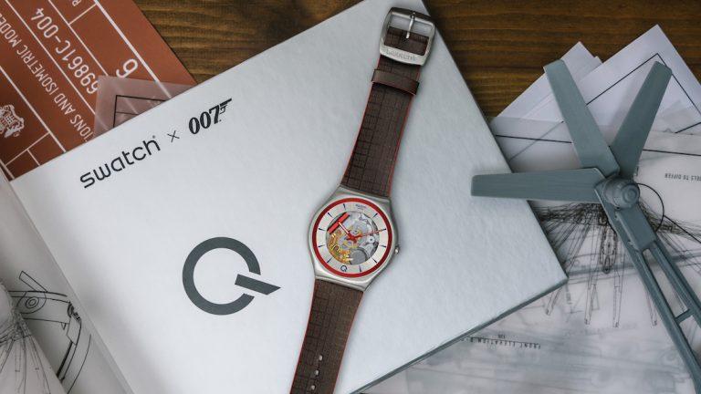 Swatch 007. La creatività non è mai abbastanza